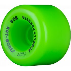 Powell Peralta Rat Bones 60mm 90a Green Wheels 4pk
