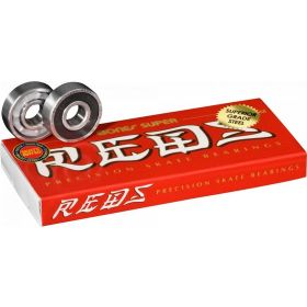 מיסבים Bones Super REDS Skateboard Bearings 8 pack