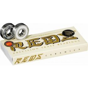 מיסבים Bones Ceramic Super REDS Skateboard Bearings 8 pack