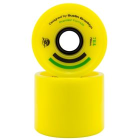 Bustin Premier Formula 70mm 80a Yellow