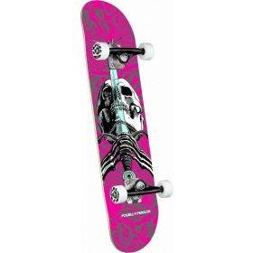 Powell-Peralta Skull & Sword One Off Pink Complete Skateboard
