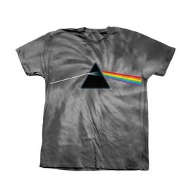 חולצה Habitat X Pink Floyd Dark Side of The Moon Tie Dye Black