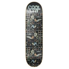קרש לסקייטבורד DEATHWISH LIZARD KING COOL CAT DECK 8.12