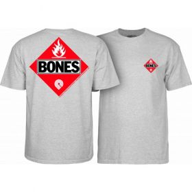 חולצה Powell Peralta Flamable Grey T-shirt