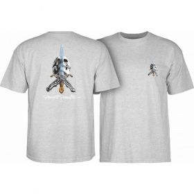 חולצה Powell Peralta Skull & Sword T-shirt - Gray