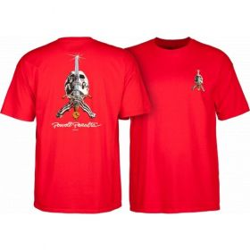 חולצה Powell Peralta Skull & Sword T-shirt - Red