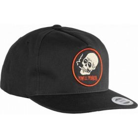 כובע Powell Peralta Smoking Skull Snapback Cap Black