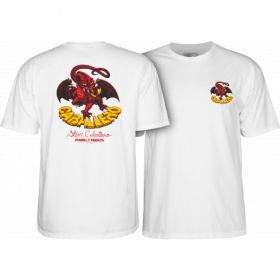 חולצה Powell Peralta Steve Caballero Original Dragon T-shirt - White