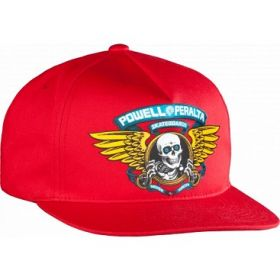 כובע Powell Peralta Winged Ripper Snap Back Cap Red