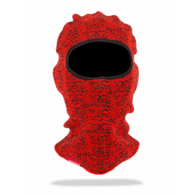 Sprayground Red Knit Ski Mask