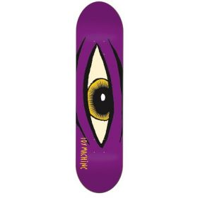 Toy Machine Team Sect Eye Purple PP Deck 8.12