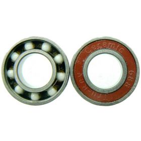 TruRev Ceramic Skate Bearings (20pcs) White