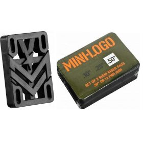 Mini Logo 0.50 Rigid Riser 2 pack
